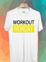 BP455 เสื้อยืด Workout Monday