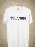 BP389 เสื้อยืด I AM LV999
