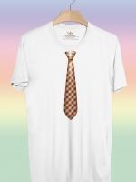 BP151 เสื้อยืด เนคไท #6