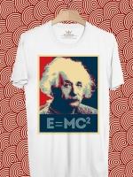 BP366 เสื้อยืด Albert Einstein