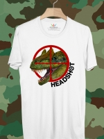 BP304 เสื้อยืด Head Shot Predator