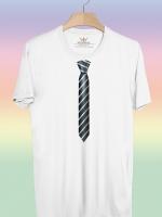 BP152 เสื้อยืด เนคไท #7