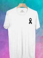 BP417 เสื้อยืด Mourning Ribbon