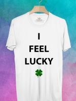 BP551 เสื้อยืด I FEEL LUCKY #1