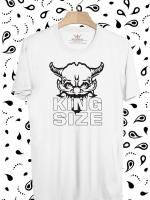 BP268 เสื้อยืด King Size of Devil