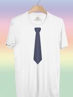 BP146 เสื้อยืด เนคไท #1