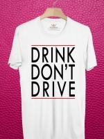 BP199 เสื้อยืด DRINK DON'T DRIVE