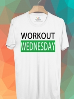 BP457 เสื้อยืด Workout Wednesday