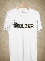 BP384 เสื้อยืด I AM SOLDIER