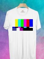BP42 เสื้อยืด Pattern TV #1