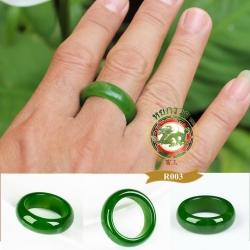แหวนหยกปลอกมีด Hetian Xinjiang Jade R0003
