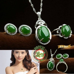 S3-0001 Jewelry Set Hetian Jade