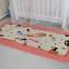 พรมปูพื้นลายแมวเหมียวสีชมพูสุดน่ารัก (ขนาด 90x185 ซม.) thumbnail 3