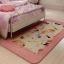 พรมปูพื้นลายแมวเหมียวสีชมพูสุดน่ารัก (ขนาด 90x185 ซม.) thumbnail 2