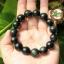 สร้อยข้อมือ หิน Obsidian Shenzi ขนาด 14 mm thumbnail 1