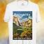 BP132 เสื้อยืด Retro City : Yosemite