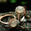 แหวนหัวหยก nephrite สีงาช้าง thumbnail 1