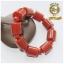 BL0005 สร้อยข้อมือลูกปัดหินหยก Hetian สีแดง thumbnail 1