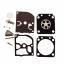C1Q-H17 Carburetor Carb Rebuild Overhaul Repair Kit For C1Q-H17 Carburador ZAMA RB 46 RB-46 Trimmer Parts thumbnail 1