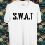 BP482 เสื้อยืด S.W.A.T