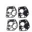2sets Carburetor Carb Diaphram Gasket Kit For Briggs & Stratton 495770 795083 5083 Craftsman SPM214686423 thumbnail 1