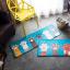พรมลายเท้าแมวสีฟ้าสดใส [Pre-Order] thumbnail 5