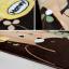 พรมปูพื้นลายเจ้าตูบสีกากีสุดน่ารัก (ขนาด 90x185 ซม.) thumbnail 13