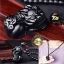 สร้อยคอ + จี้ปี่เซี๊ยะ หินออบซิเดียน (หินภูเขาไฟ) thumbnail 1