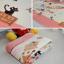 พรมปูพื้นลายแมวเหมียวสีชมพูสุดน่ารัก (ขนาด 90x185 ซม.) thumbnail 6