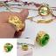 R0015แหวนหินโอปอลเขียว thumbnail 1