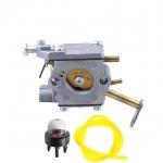 A09159 A09159A Carburetor with Primer Bulb Fuel Line Hose for Homelite Chainsaw 000998271