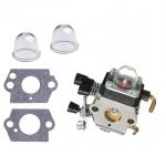 Carburettor & Air Primer bulb Gasket for STIHL FS38 FS45 FS46 FS55 FS55R FS55RC KM55 trimmers cutters