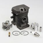 38mm Cylinder Piston kits with Zama Carburetor Carb Spark Plug For Calm MS180 018 Chainsaw