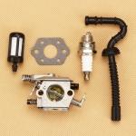 Chainsaws For Zama C1Q-S11E Fit STIH 021 MS210 023 025 MS230 MS250 Carburetor Carb Kit Air Fuel line